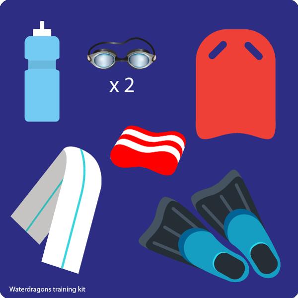 Waterdragons training kit