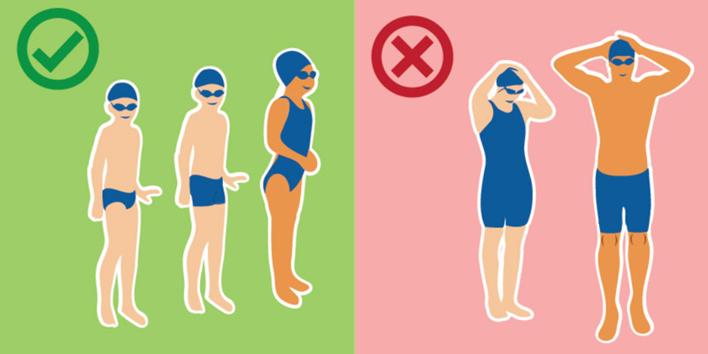 11 and under swimsuit diagram